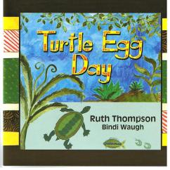 "Book Cover ""TURTLE EGG DAY"""
